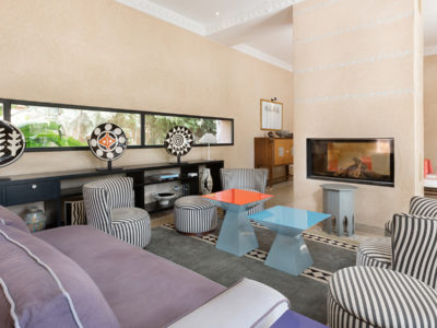 Vente villa de luxe à Marrakech Salon
