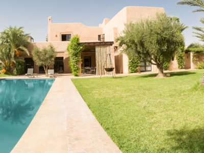 Vente villa de luxe à Marrakech Piscine