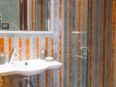 Appartement de luxe à Marrakech salle de bain