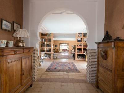 Villa de charme couloir
