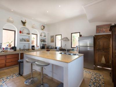 Villa de charme cuisine