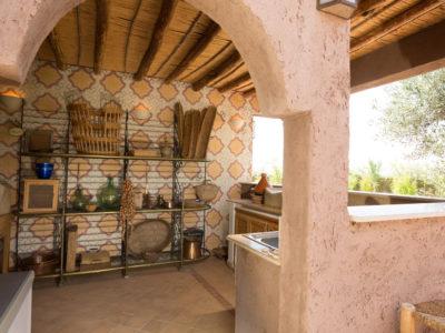 Villa de charme cuisne exterieur