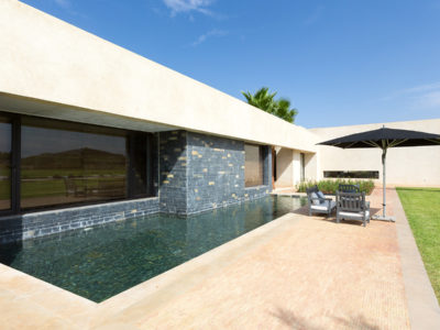piscine privé suite