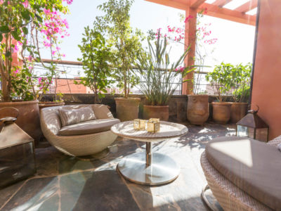 Appartement de luxe à Marrakech Terrasse