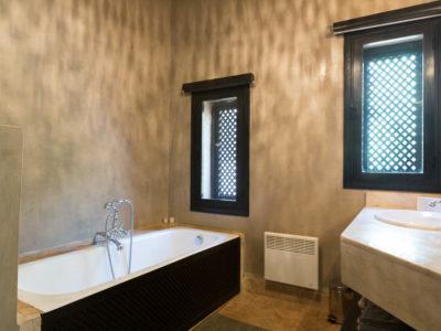 Villa chic et zen à Marrakech Salle de bain