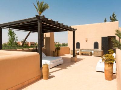 Villa chic et zen à Marrakech Terrasse