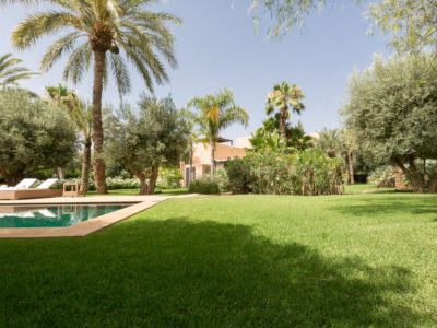 Villa chic et zen à Marrakech Jardin
