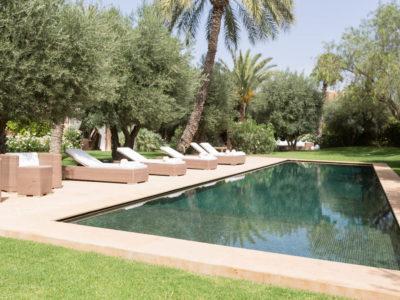 Villa chic et zen à Marrakech Piscine