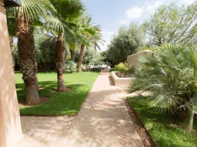 Villa chic et zen à Marrakech Entrée