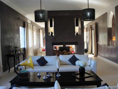 Villa de Charme à Marrakech Salon
