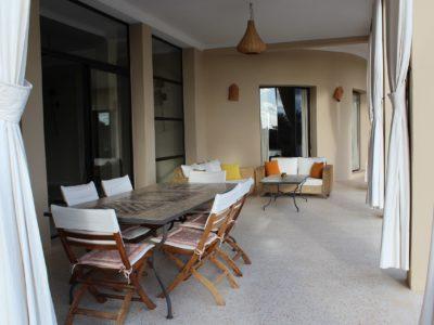 Villa de Charme à Marrakech Terrasse