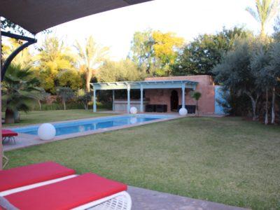 Magnifique villa au centre de Marrakech Terrasse Piscine