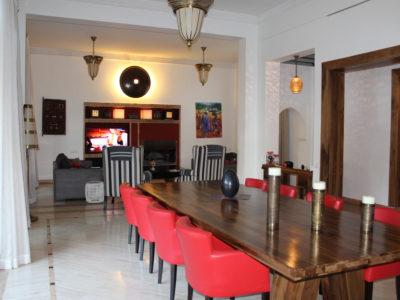Magnifique villa au centre de Marrakech Salle à manger