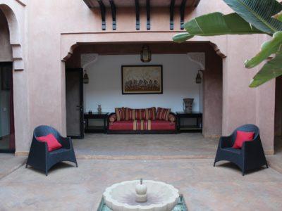 Magnifique villa au centre de Marrakech Terrasse