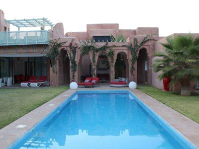 Magnifique villa au centre de Marrakech Piscine
