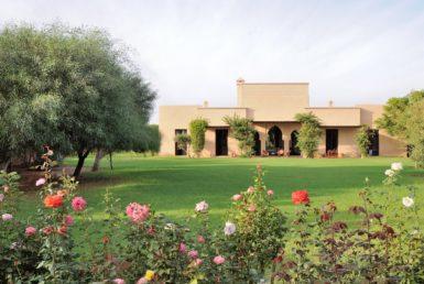 Maison de Rose | Paix et luxe Villa à Vendre | Agence Immobilière Marrakech