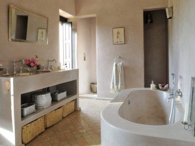 Maison de Rose salle de bain