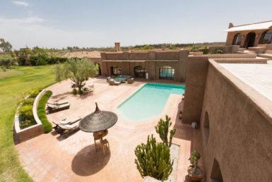 Agence Immobikière | mise en vente d'une Villa de charme à Marrakech