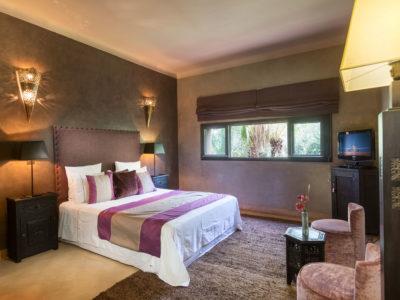 Villa chic et zen à Marrakech chambre