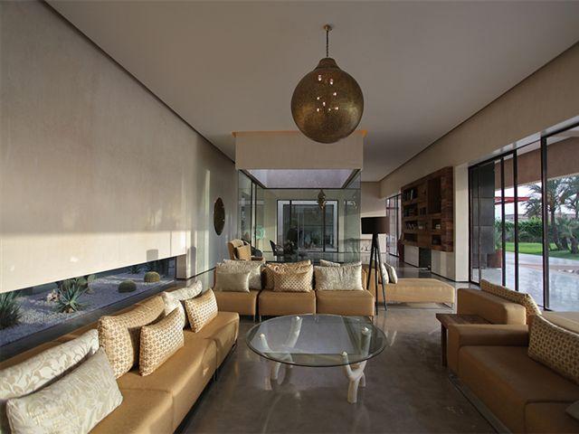 Moderne et luxe à la palmeraie de Marrakech