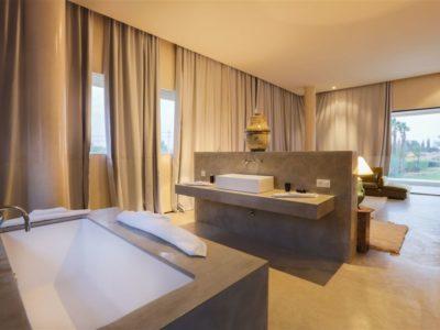 Moderne et luxe à la palmeraie de Marrakech Salle de bain