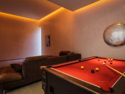 Moderne et luxe à la palmeraie de Marrakech Salle de billard
