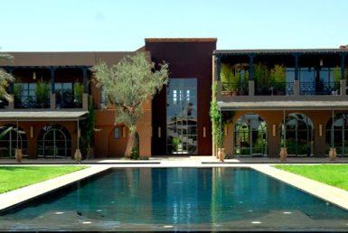 Magnifique villa à la Palmeraie pour location de vacances à Marrakech
