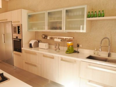 Villa moderne de charme à Marrakech cuisine