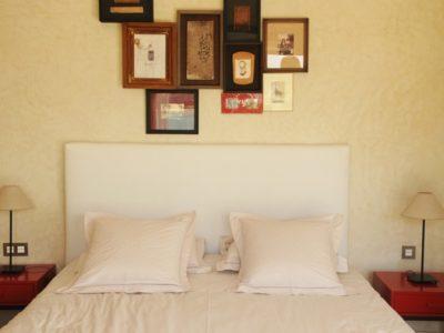 Villa moderne de charme à Marrakech chambre à coucher