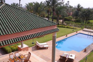 Magnifique Villa de prestige à louer | Agence Immobilière Marrakech