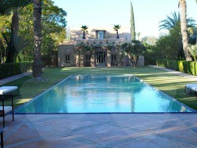 Luxe et sérénité à la palmeraie de Marrakech