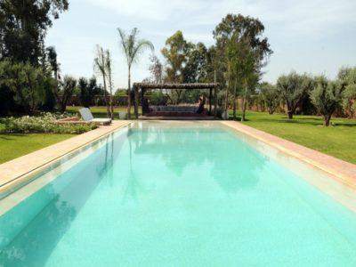 Villa moderne de charme à Marrakech piscine