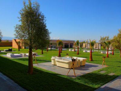 Villa de luxe pour vos vacances à Marrakech Jardin