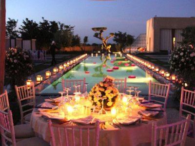 Villa de luxe pour vos vacances à Marrakech Piscine