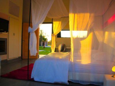 Villa de luxe pour vos vacances à Marrakech chambre à coucher