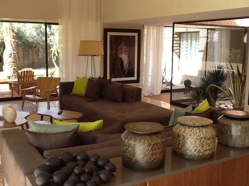 Villa moderne de charme à Marrakech Salon