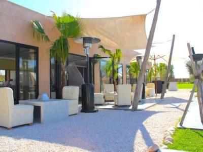 Villa de luxe pour vos vacances à Marrakech terrasse