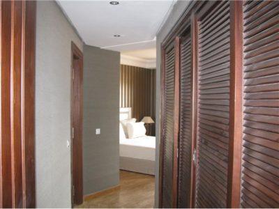 Appartement Pacha chambre à coucher