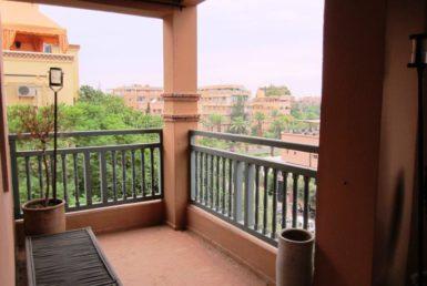Appartement dans résidence avec piscine | Agence Immobilière Marrakech