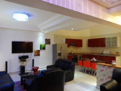 Beau duplex à louer à Marrakech SALON