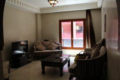 Bel appartement à louer | 1 chambre + Salon + Cuisine équipée + douche