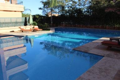Bel appartement à l'Hivernage accès jardin | Agence Immobilière Marrakech