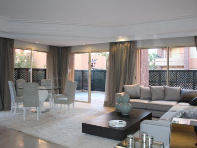 Bel appartement en rez-de-jardin à l'Hivernage Marrakech (10)