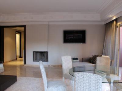 Bel appartement en rez-de-jardin à l'Hivernage Marrakech (11)
