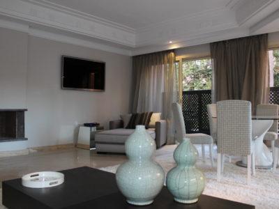 Bel appartement en rez-de-jardin à l'Hivernage Marrakech (13)