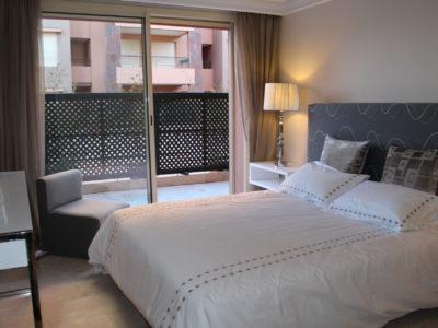Bel appartement en rez-de-jardin à l'Hivernage Marrakech (19)