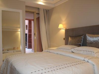 Bel appartement en rez-de-jardin à l'Hivernage Marrakech (21)