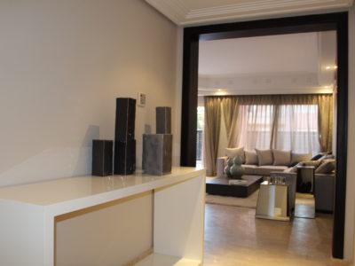 Bel appartement en rez-de-jardin à l'Hivernage Marrakech (4)