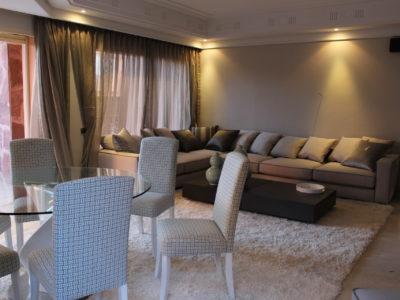 Bel appartement en rez-de-jardin à l'Hivernage Marrakech (7)