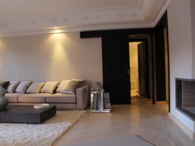 Bel appartement en rez-de-jardin à l'Hivernage Marrakech (8)